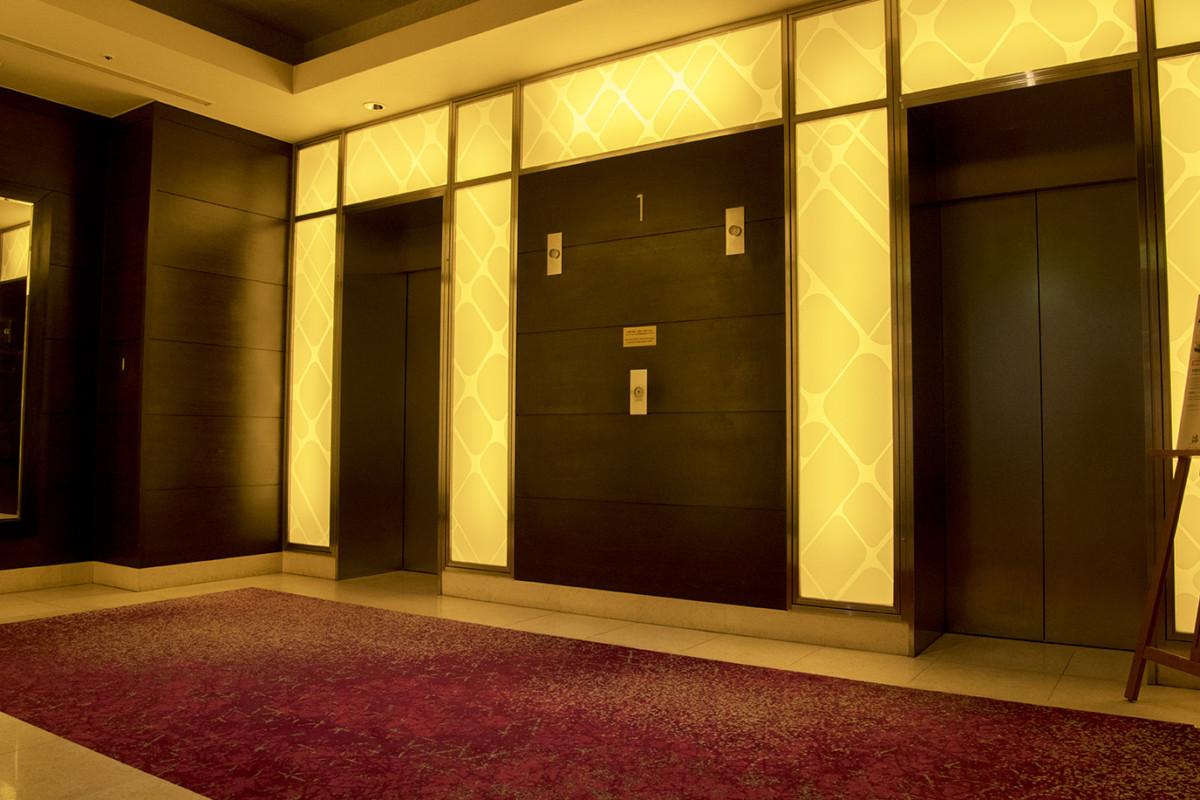 客室階エレベーター仕様変更について