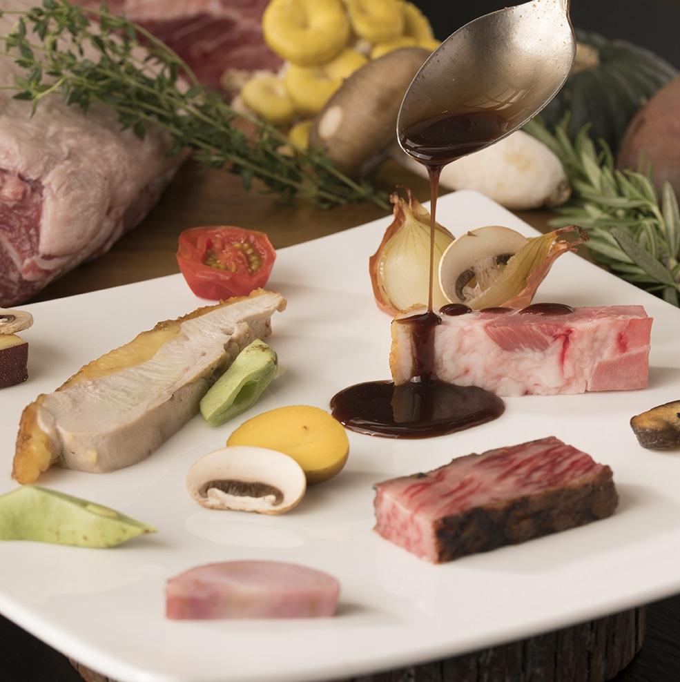 【1泊2食/洋食ディナー】〈モン・テ・メール〉~フランス料理で旅する岡山の山と海~